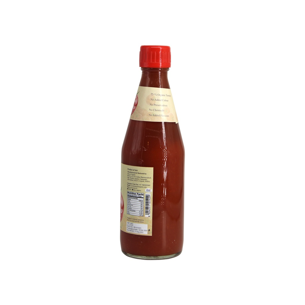 SO GOOD Jaggery Tomato Ketchup 450gm
