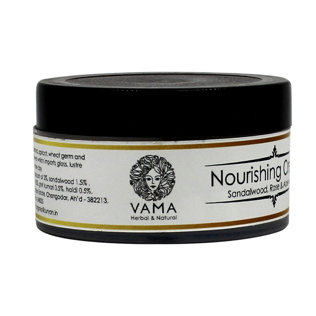 VAMA Nourishing Cream Sandalwood,rose & Alove-Vera