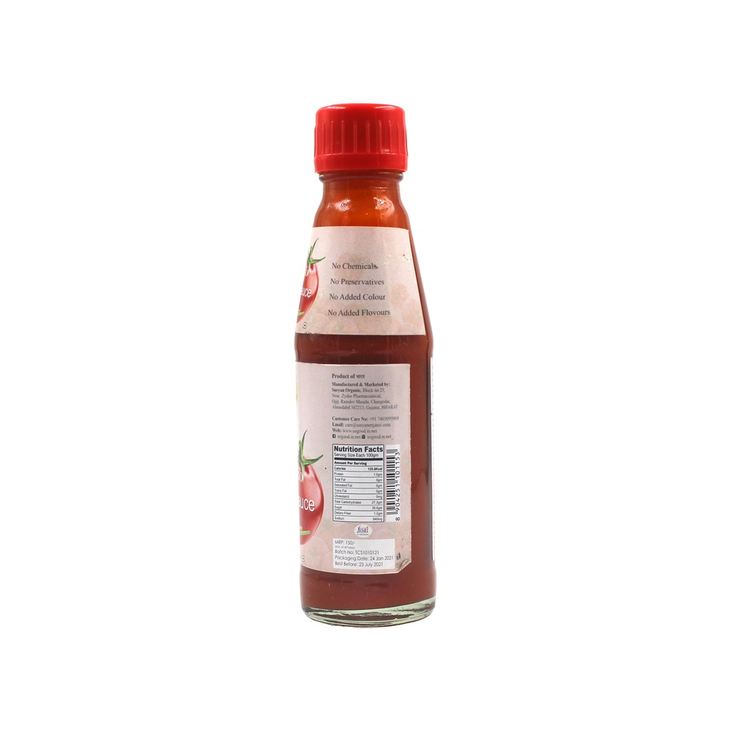 SO GOOD Tomato Chilli Sauce 200gm