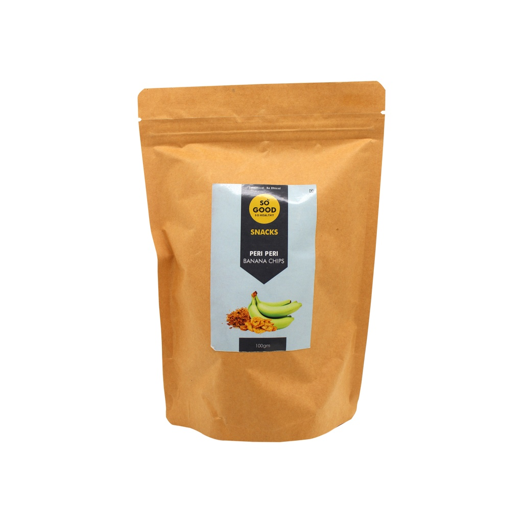 SO GOOD Banana Peri Peri Chips 100g