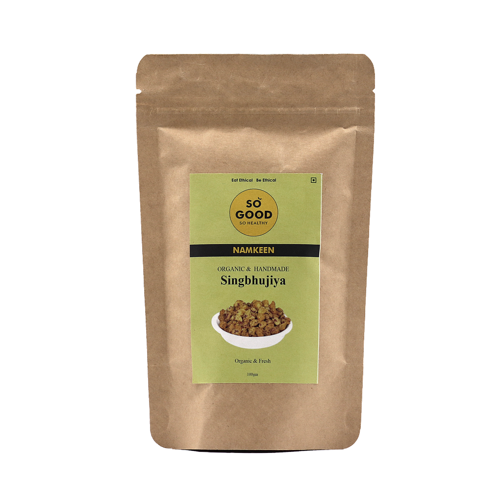 SO GOOD Organic Singbhujiya 100gm