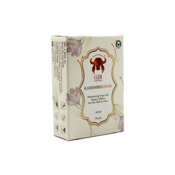 [kaskesar12 ] GIR Kashmiri Kesar and Milk Herbal Soap 80g