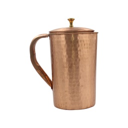 Kapita Copper Hammered Lacquer Coated Jug 1ltr