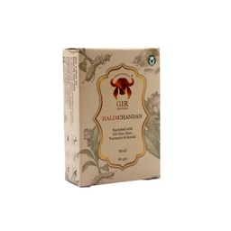 [haldichand005 ] GIR Haldi & Chandan Herbal Soap 80g