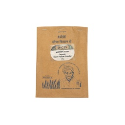 Sidha Kisan Se Organic Black Pepper powder (Kali Mirch) 100gm
